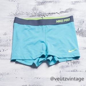 Nike Pro Fit Compression Running Shorts Women's M